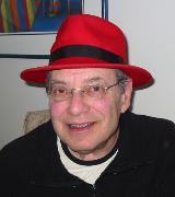 Mel Seder, sporting his red fedora
